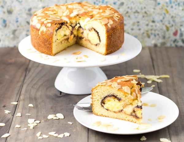 Profiterole Vanilla Buttermilk Cake