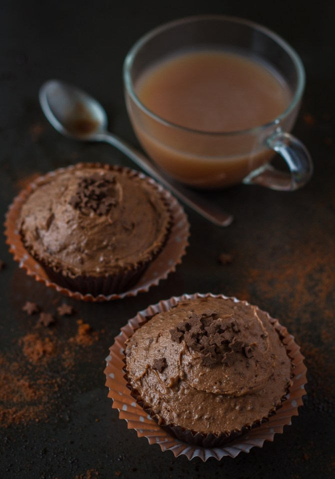 Ovaltine Cupcakes