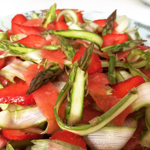 salade-asperges-pastèque