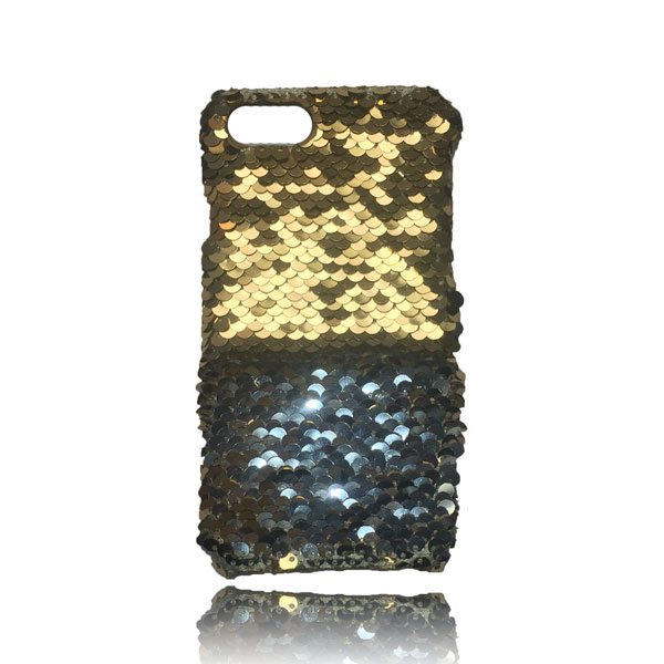 Sequin Flip Case - Gold - iPhone 8 / iPhone 7 / iPhone 6S / iPhone 6 2