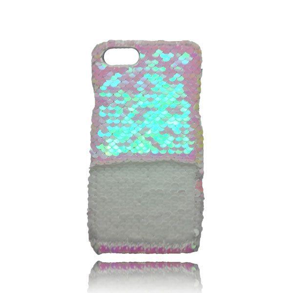 Sequin Flip Case - White - iPhone 8 / iPhone 7 / iPhone 6S / iPhone 6 2
