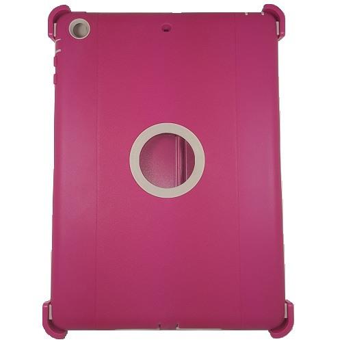 iPad Air 1 Defender Hybrid Case (Pink/White) 1