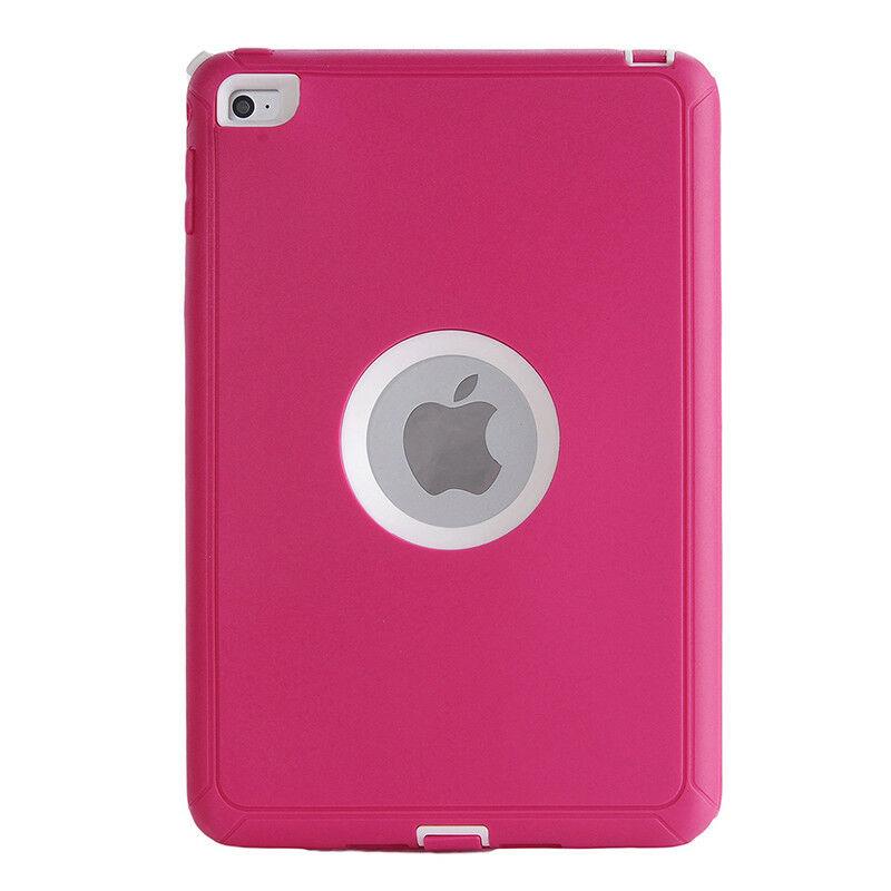 Defender Hybrid Case (Pink/White) - iPad Mini 1 / 2 / 3 1