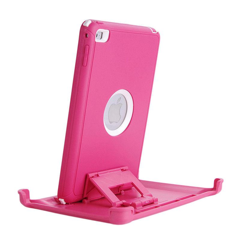 Defender Hybrid Case (Pink/White) - iPad Mini 1 / 2 / 3 4