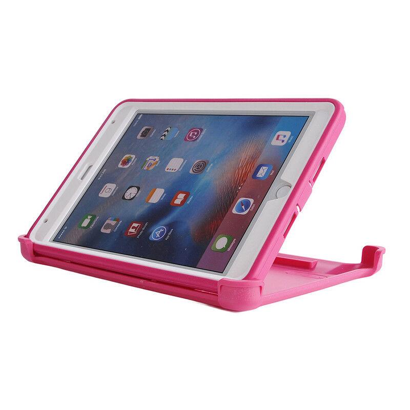 Defender Hybrid Case (Pink/White) - iPad Mini 1 / 2 / 3 6