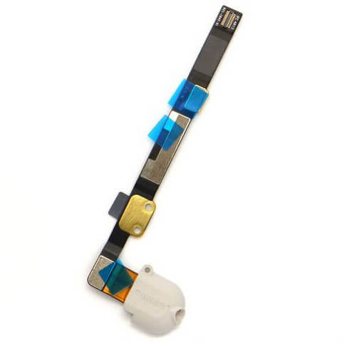 iPad Mini 1 / 2 / 3 Headphone Jack Flex Cable Replacement Part White 1