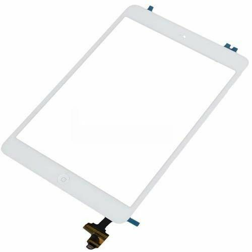 Touch Screen Glass Digitizer IC Flex Connector Assembly White for iPad Mini 1 / 2 1