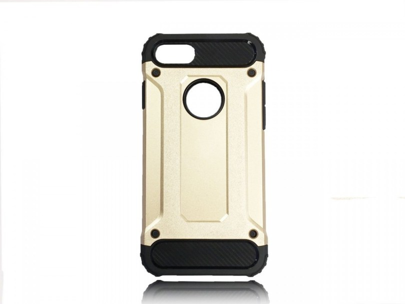 Armor Style Case - Gold - iPhone 8 / iPhone 7 1