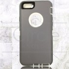 Picture of Defender Hybrid Case w/Clip (Gray/White) - iPhone 6 Plus / 6S Plus