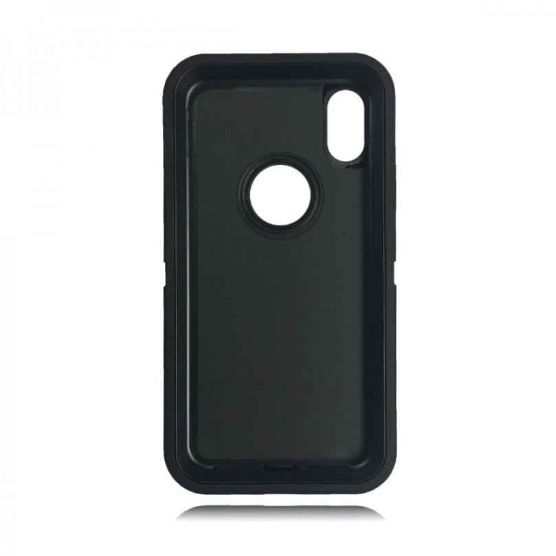 Heavy Duty Case w/ Clip BLACK/BLACK - iPhone X 2