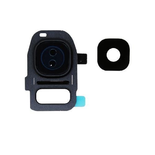 Samsung Galaxy S7 Back Rear Facing Camera Lens and Bezel Black 1
