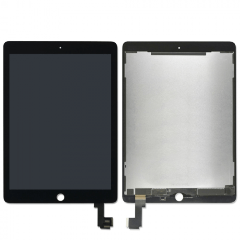 iPad Air 2 LCD/Digitizer Touch Screen with Wake/Sleep Sensor Black 1