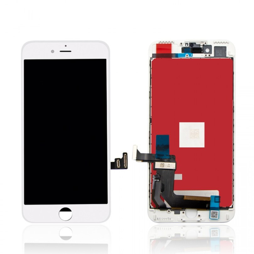 (Premium Plus Quality) LCD Display Touch Digitizer Screen White for iPhone 7 Plus 1