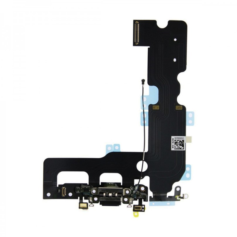 Charging Charger Port Flex Cable Mic Antenna Replacement Black For iPhone 7 Plus 1