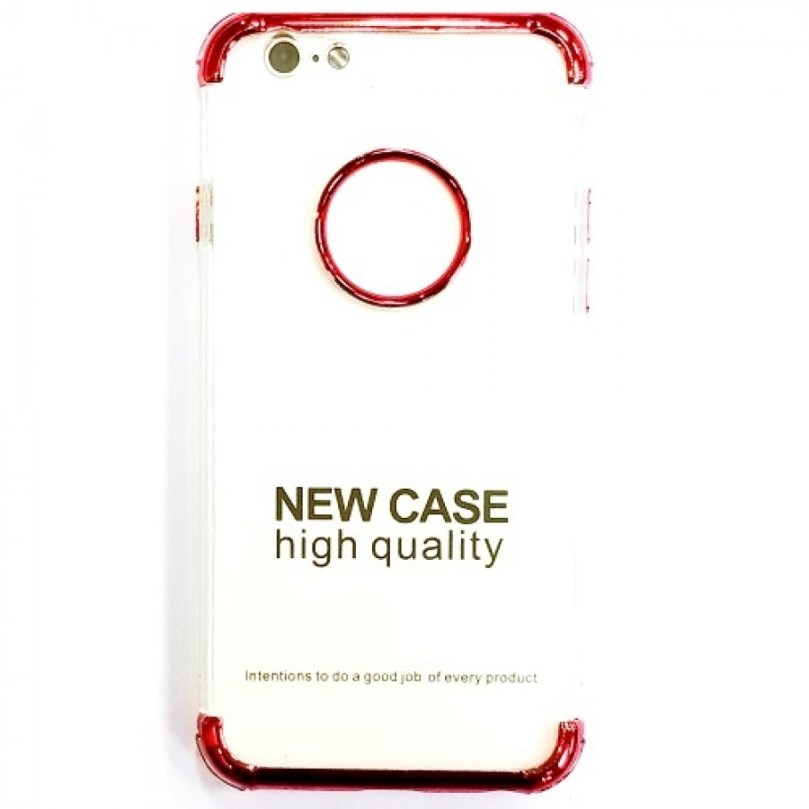 iPhone X/XS Tritection Case Clear/Red 1