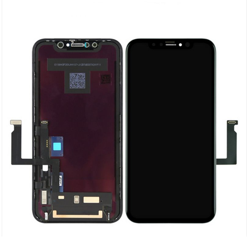 Liquid Display LCD with Force Touch Digitizer Screen Panel Frame for iPhone XR 1