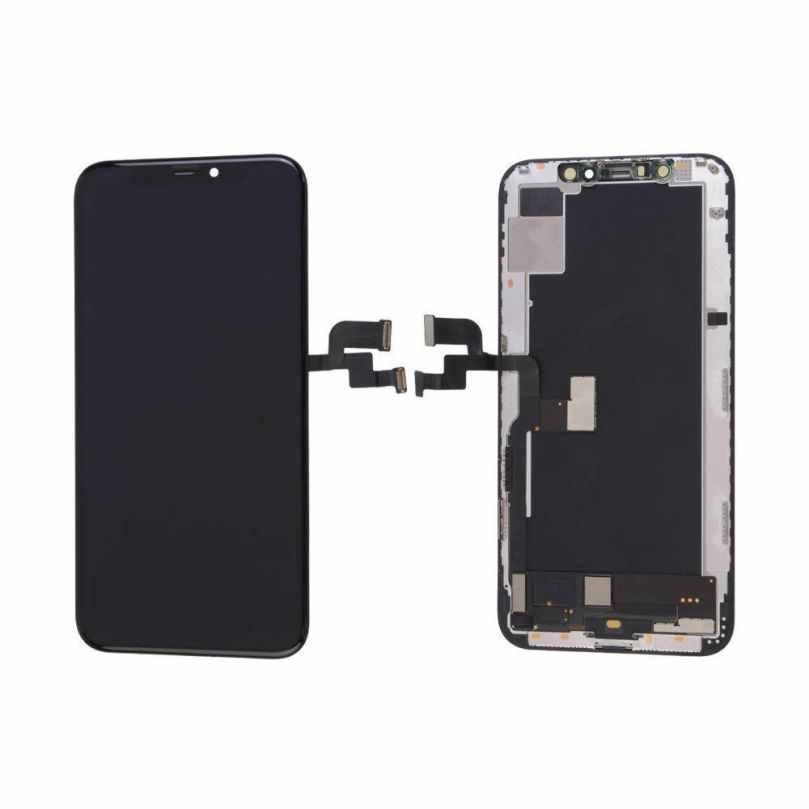 Soft OLED Display LCD Force Touch Screen Digitizer Assembly For iPhone XS 3