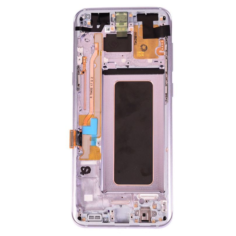 AMOLED Display Touch Screen Digitizer Frame Gray For Samsung Galaxy S8 3
