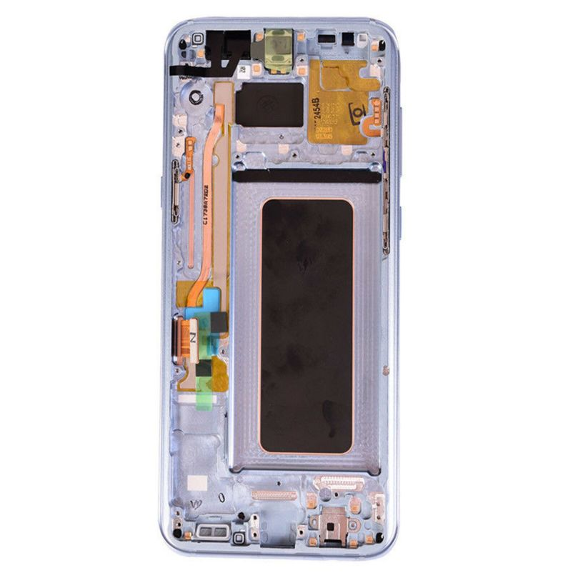 LCD Screen Touch Screen Digitizer   Frame Blue For Samsung Galaxy S8 Plus 3