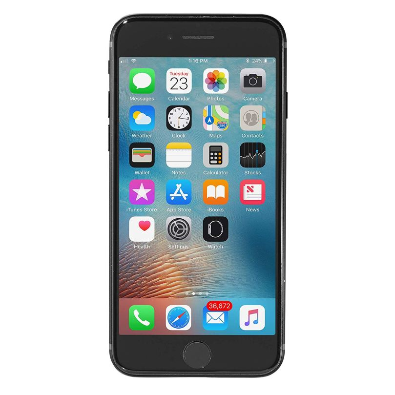 iPhone 7 - 32GB Fully Unlocked - Black (Renewed) 1
