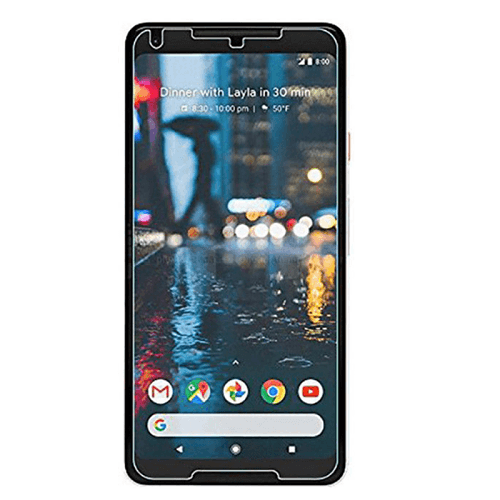 Google Pixel 2 XL Tempered Glass Screen Protector CLEAR 1