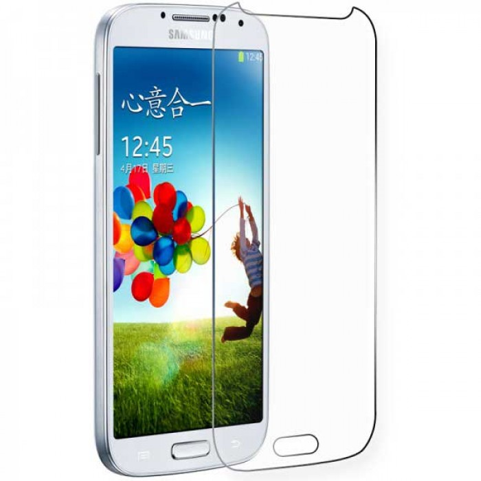 Samsung Galaxy S4 Tempered Glass Screen Protector CLEAR 1