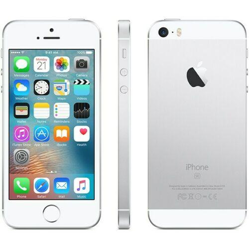 iPhone SE - 32GB Fully Unlocked - Silver (Renewed) 2