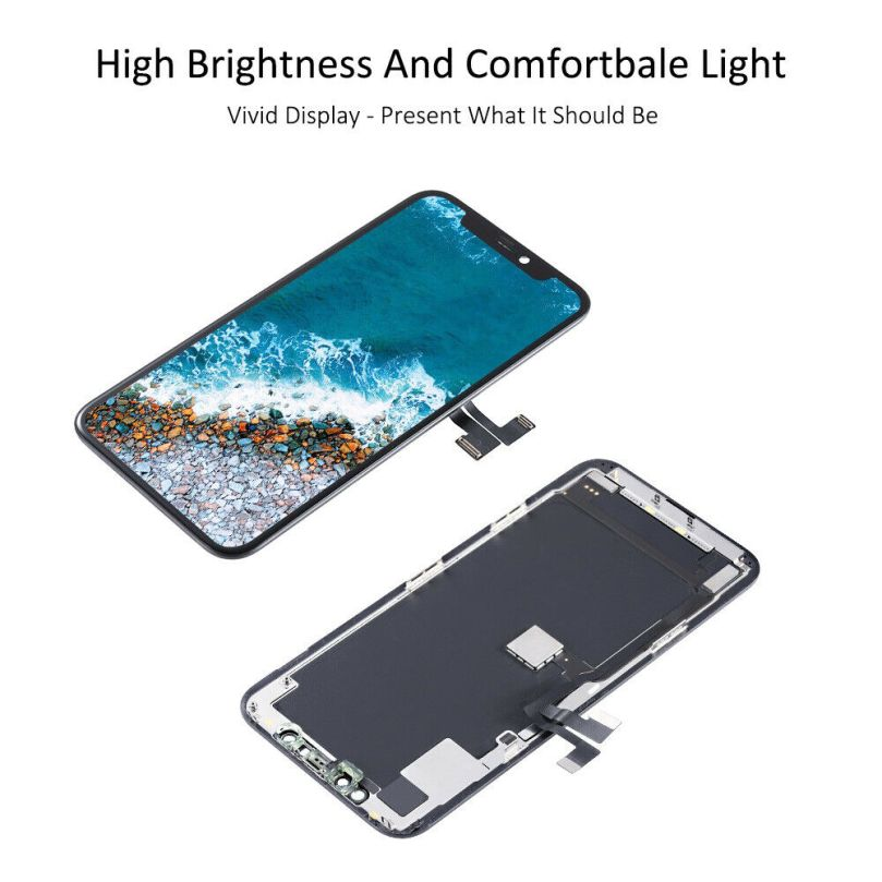 OLED Display LCD Touch Screen Digitizer Frame For iPhone 11 Pro 6