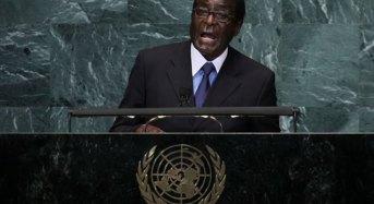 "Mugabe Berates US, UK Over ""Illegal Sanctions"""