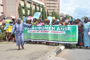 Market Women Protest ASUU Strike