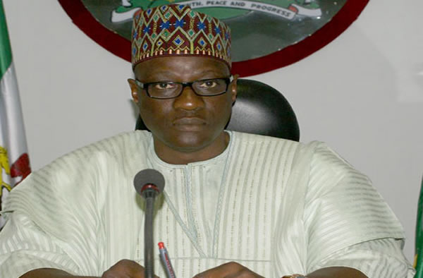 Gov of Kwara, Abdulfatah-Ahmed