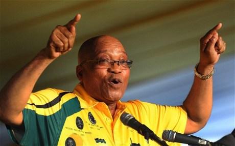 Jacob-Zuma sworn in for second term