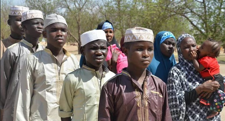 Some Boko Haram suspects, including underage boys, women and children, were cleared and released by the military