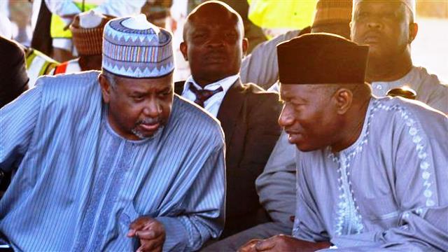 Ex - President Goodluck Jonathan and Sambo Dasuki