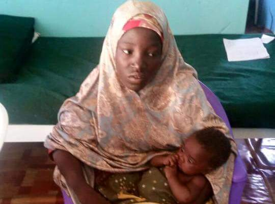 Amina Ali , rescued Chibok girl