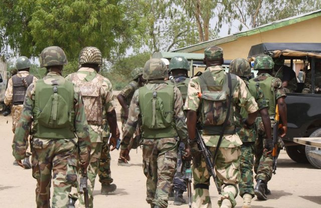 Men of the Nigerian Army