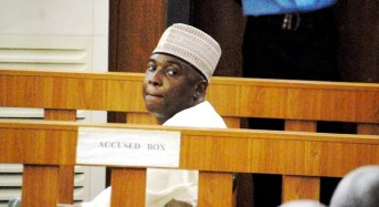 Image result for Code of Conduct Tribunal discharges bukola saraki