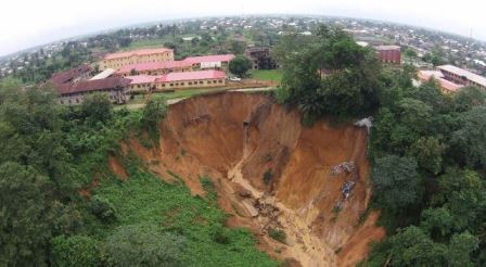 Anua Ravine Erosion , by St Luke's Hospital, Uyo