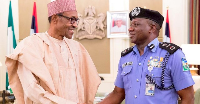 President Buhari and IGP Idris