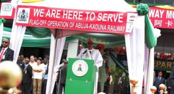 Buhari Promises To Connect States By Rail