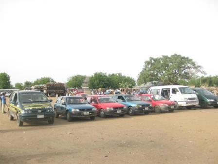 Damboa Motor Park after opening of Maiduguri-Damboa-Biu Rd
