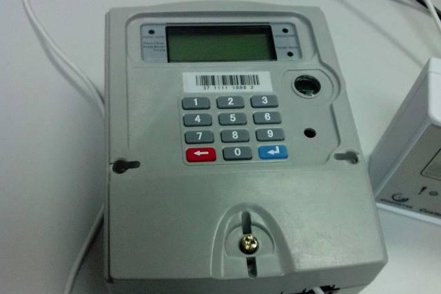 A Prepaid Electricity Meter