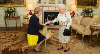 May Takes Over From Cameron As British PM