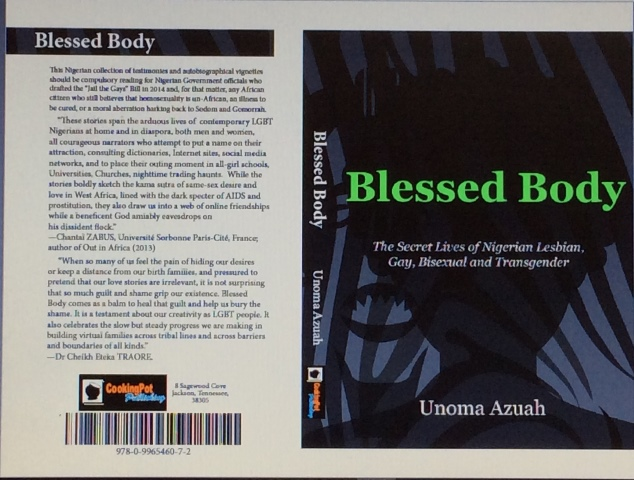 The Cover page of Blessed Body