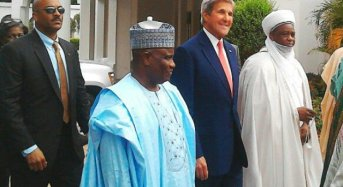 John Kerry Lauds Sultan For Promoting Religious Tolerance