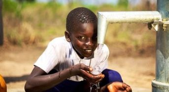 FG Kick-Starts Water Project In Jonathan's Hometown