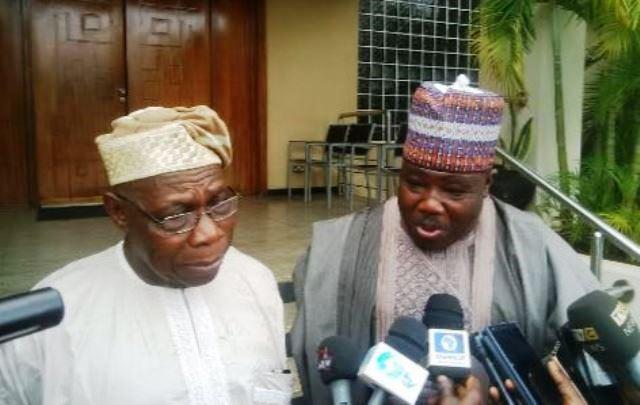 Obasanjo and Ali Modu-Sheriff