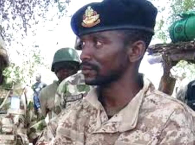 Late Lt. Col. Muhammad Abu-Ali