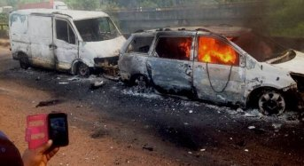 53 Persons Burnt To Death In Edo Auto Crash
