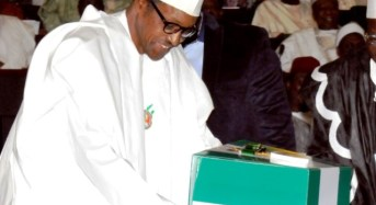 President Buhari To Present 2017 Budget Next Week